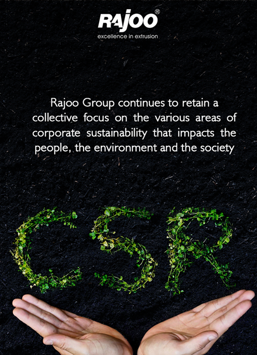 Rajoo Engineers Limited,India aspires to set the global plastic industry benchmark in Value Creation and Corporate Citizenship. As its business expands, Rajoo Group continues to retain a collective focus on the various areas of corporate sustainability that impacts the people, the environment and the society  #RajooEngineers #Rajkot