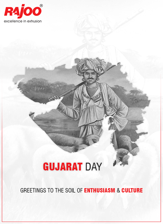 Greetings to the soil of enthusiasm & culture.  #GujaratDivas #GujaratDay #RajooEngineers #Rajkot