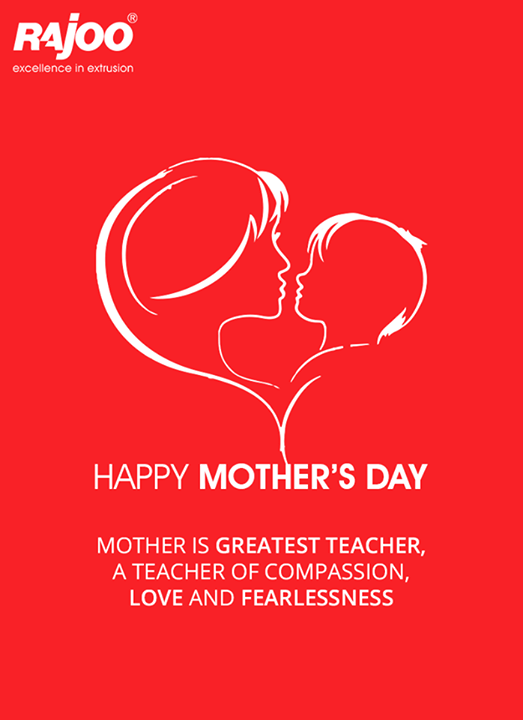 To the best teachers of our lives! #HappyMothersDay from Rajoo Engineers Limited,India !  #RajooEngineers #Rajkot