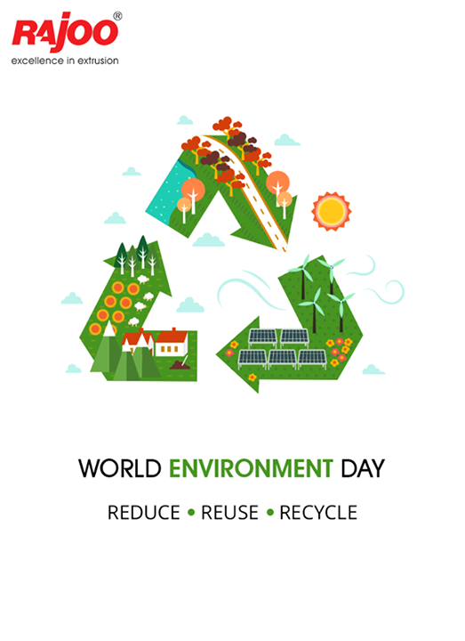Take a pledge to nurture and care for the Environment on the occasion of #WorldEnvironmentDay!  #EnvironmentDay #RajooEngineers #Rajkot