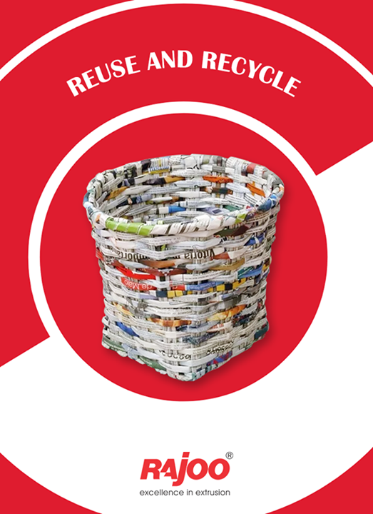Newspaper can be recycled into egg cartons, game boards, new newspaper, gift boxes, animal bedding, insulation and packaging material.  #RajooEngineers #Rajkot