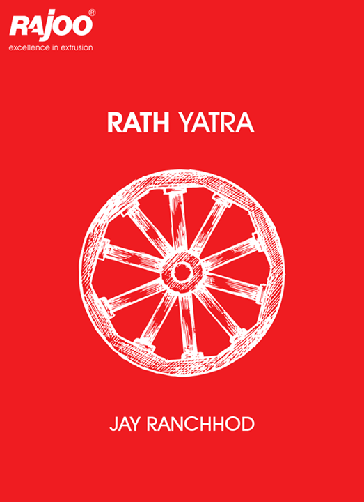 May lord Jagannath bless you with peace, prosperity & happiness.  #RathYatra #Rathyatra2017 #IndianFestivals #RajooEngineers #Rajkot