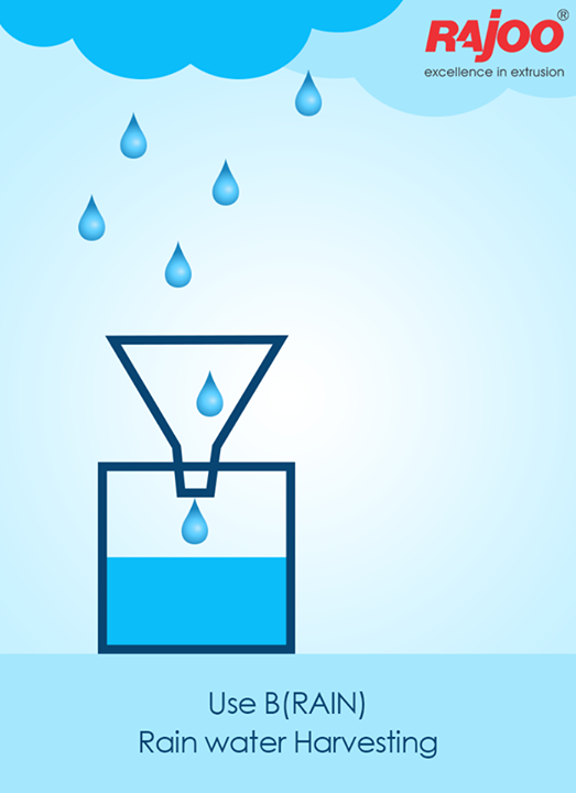 #RainwaterHarvesting is a technology used for collecting and storing rainwater from rooftops, the land surface or rock catchments using simple techniques such as jars and pots as well as more complex techniques such as underground check dams.  #RajooEngineers #Rajkot