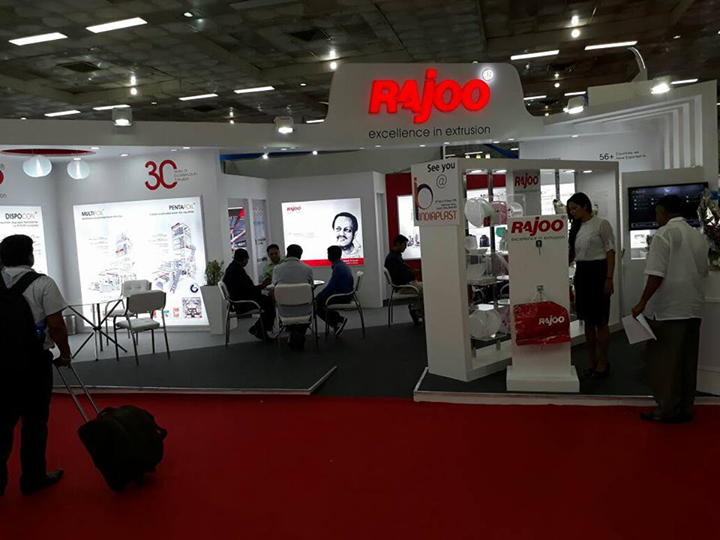 Rajoo Engineers Limited,India at 6th Plastasia 2017  #NewDelhi #RajooEngineers