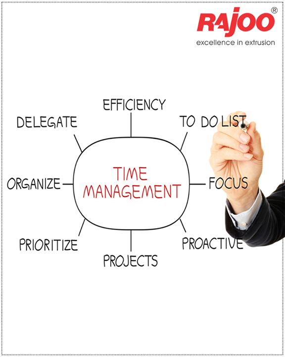 #Time is the most important resource to be utilized effectively.  #RajooEngineers #Rajkot