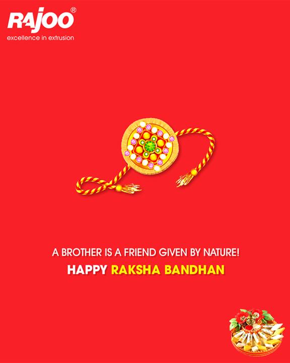Celebrate the #siblingbond this #RakshaBandhan!  #HappyRakshaBandhan #Rakhi #IndianFestivals #RajooEngineers #Rajkot