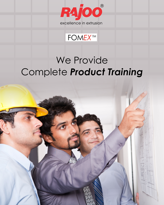 We offer technical training for clients' Engineers, Operators, Programmers and Maintenance Staff for our products and its operating systems, automation process and technology used.  #RajooEngineers #Rajkot