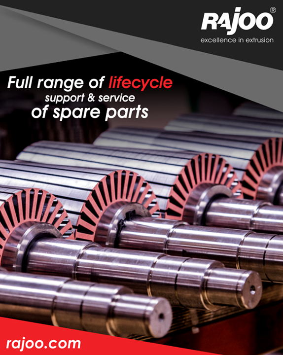 We maintain stock of all essential spares for the products. This helps us to meet our client's requirement that comes with urgency as malfunctioning of any single spare part of a machine can put the entire process on hold.  #RajooEngineers #Rajkot