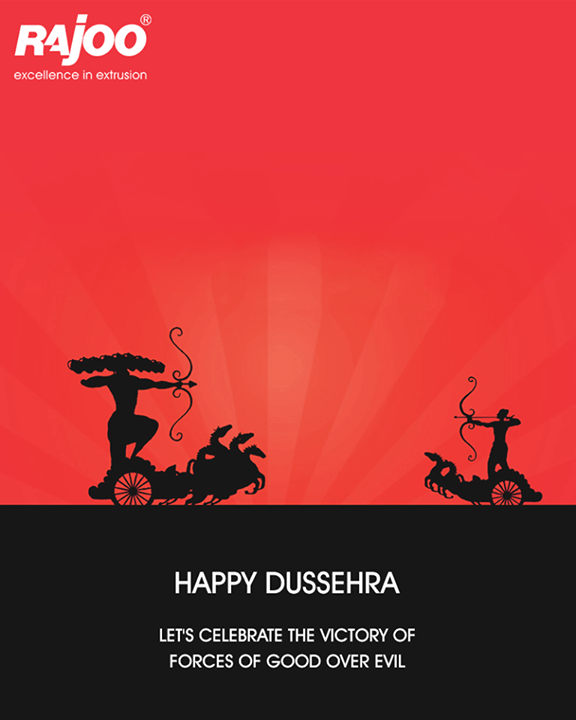Let's celebrate the victory of forces of good over evil.   #HappyDussehra #DussehraWishes #Dussehra #Dussehra2017 #RajooEngineers #Rajkot