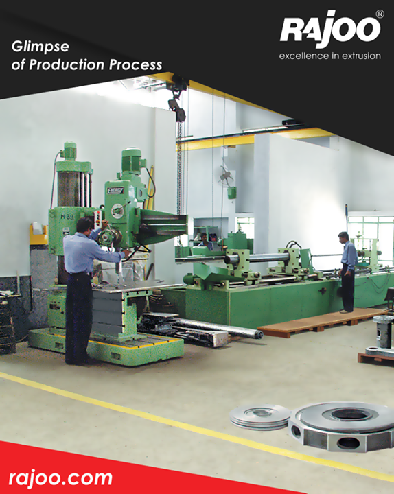 The production facility of Rajoo Engineers Limited,India where quality comes first!  #RajooEngineers #Rajkot
