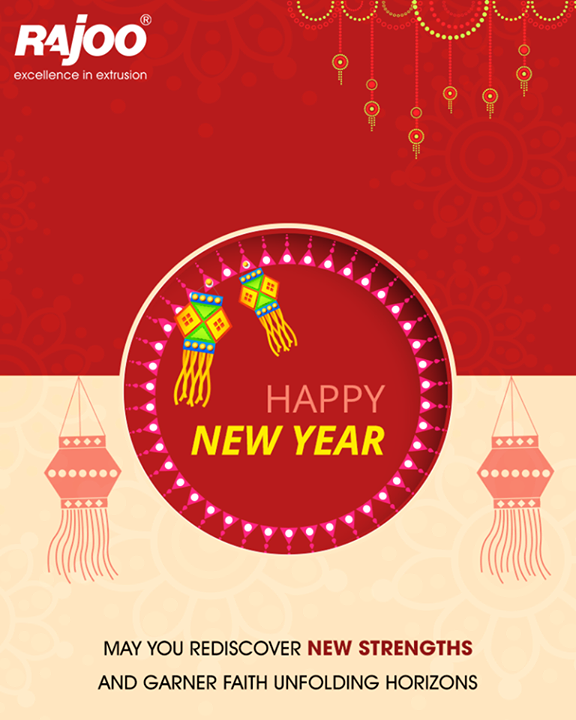 May you rediscover new strengths and garner faith unfolding horizons  #FestiveWishes #HappyNewYear #NewYearWishes #Diwali #IndianFestivals #RajooEngineers #Rajkot