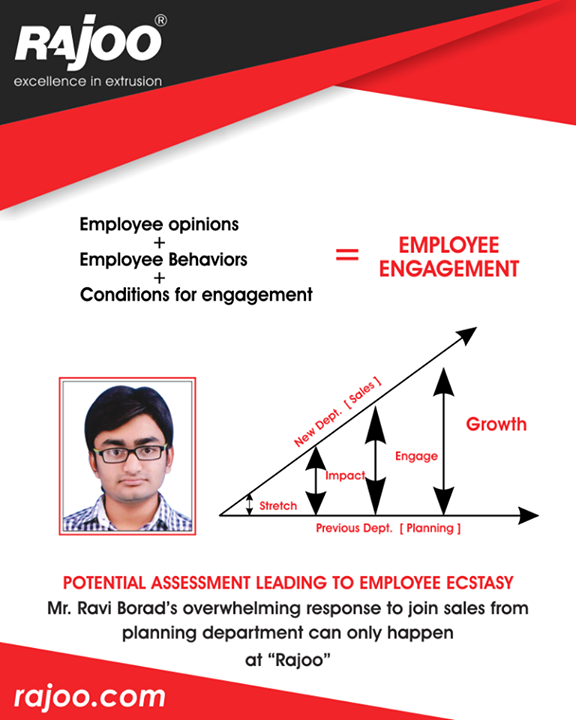 :: Potential assessment leading to employee ecstasy ::  #RajooEngineers #Rajkot