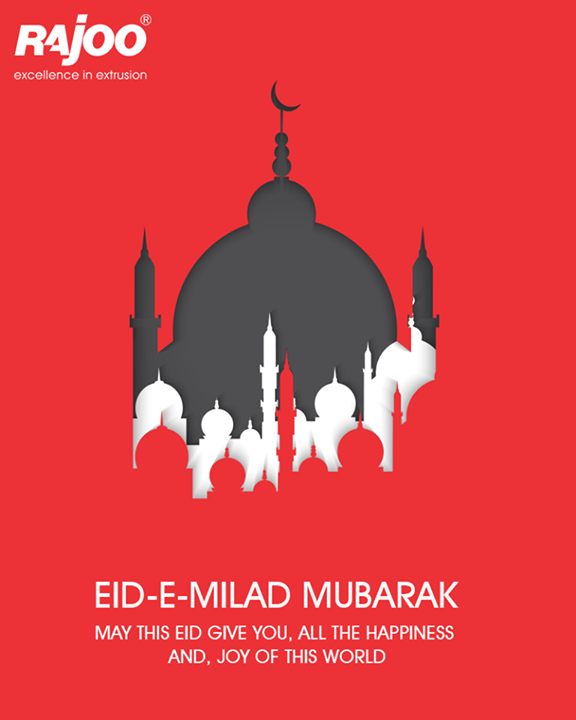 May the magic of this Eid-E Milad bring lots of happiness in your life.   #EidMubarak #HappyEidEMilad #RajooEngineers #Rajkot