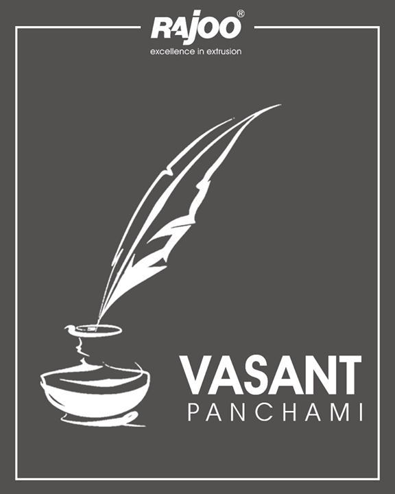 Let this #VasantPanchami be a year of devotion, knowledge and enlightenment.  #Festival #IndianFestival #SaraswatiPuja #RajooEngineers #Rajkot