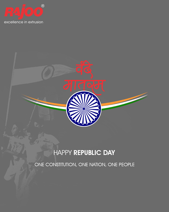 Here's extending warm wishes to all on Republic Day!  #RepublicDay #HappyRepublicDay #Salute #India #RajooEngineers #Rajkot #PlasticMachinery #Machines #PlasticIndustry