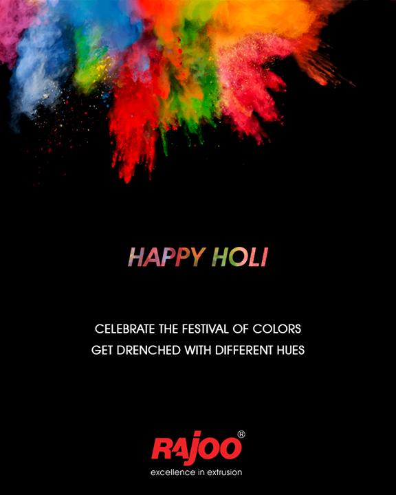 Celebrate the festival of colors.  #HappyHoli #Holihai #HoliFestival #IndianFestivals #Holi2018 #RajooEngineers #Rajkot #PlasticMachinery #Machines #PlasticIndustry
