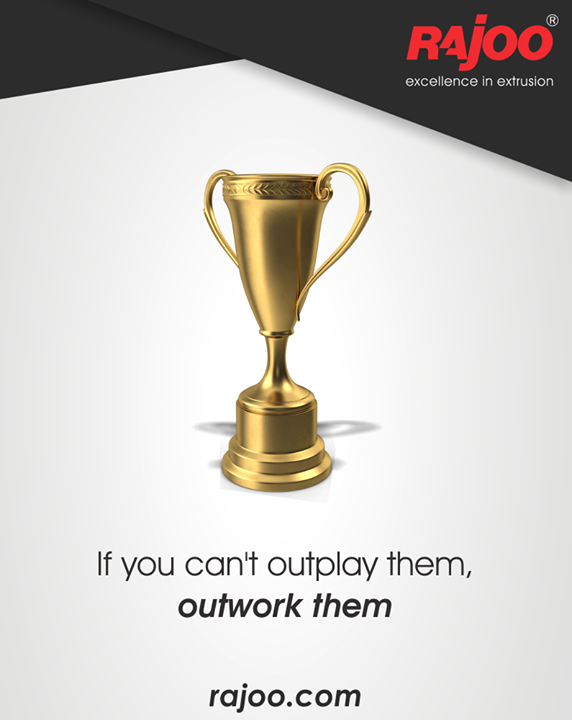 Hard work will help you outshine against all!  #RajooEngineers #Rajkot #PlasticMachinery #Machines #PlasticIndustry