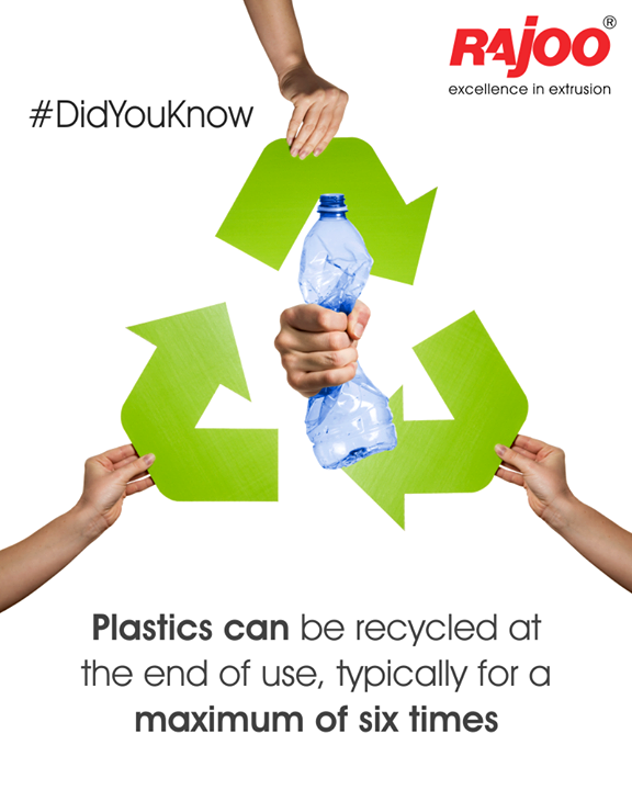 Benefits of plastic!  #DidYouKnow #RajooEngineers #Rajkot #PlasticMachinery #Machines #PlasticIndustry