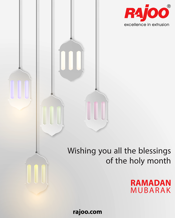 Wishing you all the blessings of the holy month.  #FestiveGreetings #Ramazan #Ramadan #RajooEngineers #Rajkot #PlasticMachinery #Machines #PlasticIndustry