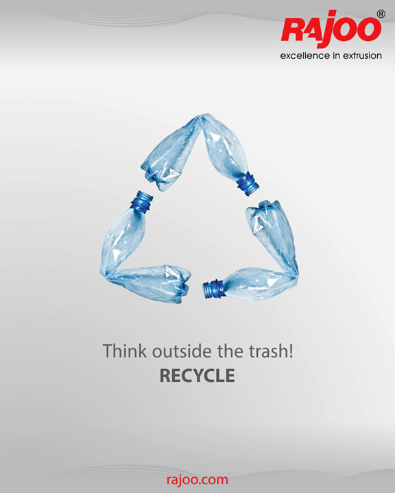 Recycle in present, save the future.  #RajooEngineers #Rajkot #PlasticMachinery #Machines #PlasticIndustry