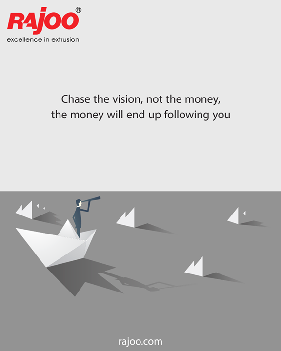 Chase your vision!  #RajooEngineers #Rajkot #PlasticMachinery #Machines #PlasticIndustry
