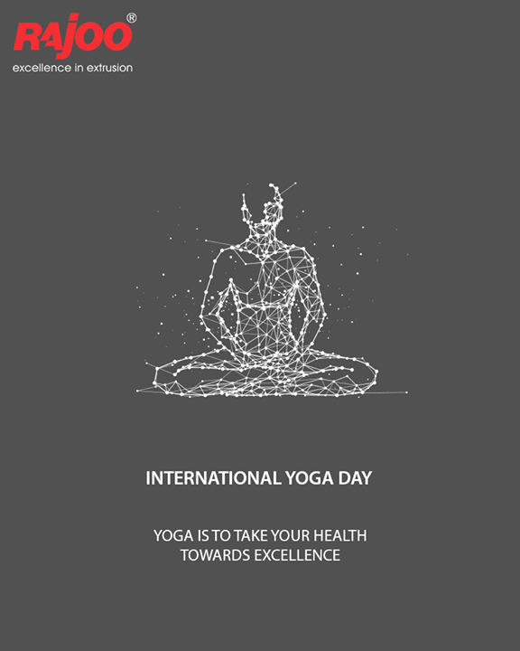Yoga is to take your health towards excellence.  #YogaDay #YogaDay2018 #InternationalYogaDay #RajooEngineers #Rajkot