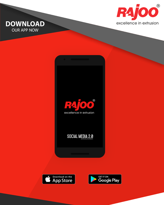 Download Rajoo Engineers Limited,India's app now and get more updates on a wide range of plastic extrusion machinery. 