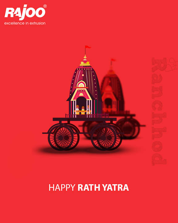 May the lord shower his choicest blessings on you this Rathyatra!  #RajooEngineers #Rajkot #RathYatra2018 #RathYatra #LordJagannath #FestivalOfChariots #Spirituality