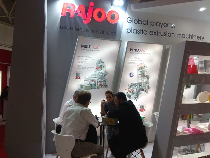 ::Rajoo Engineers Limited,India at The 12th Iran Plast::  #Events #RajooEngineers #Rajkot #PlasticMachinery #Machines #PlasticIndustry