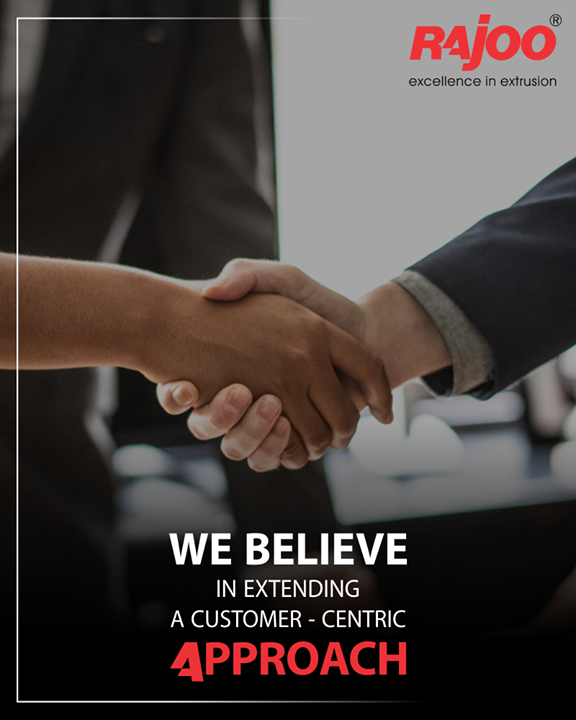 We tend to extend a customer-centric approach for our precious clients!   #RajooEngineers #CustomerCentricApproach #PreciousCustomers #Clients #PlasticMachinery #Machines #PlasticIndustry #Rajkot #Gujarat #India