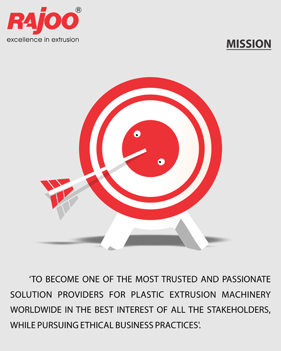 It's our constant endeavour to deliver the finest machines & passionate solutions!   #RajooEngineers #Rajkot #PlasticMachinery #Machines #PlasticIndustry
