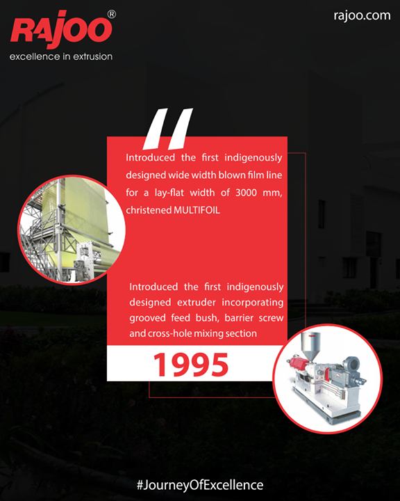 ::Journey Of Excellence::  #JourneyOfExcellence #RajooEngineers #Rajkot #PlasticMachinery #Machines #PlasticIndustry