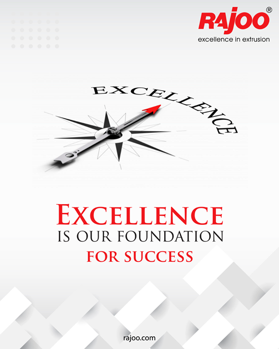 Our love for excellence drives who we are and what we do.  #RajooEngineers #Rajkot #PlasticMachinery #Machines #PlasticIndustry