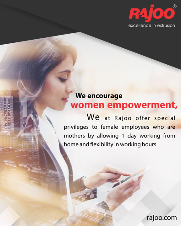 Our sincere steps towards #WomenEmpowerment!  #RajooEngineers #Rajkot #PlasticMachinery #Machines #PlasticIndustry
