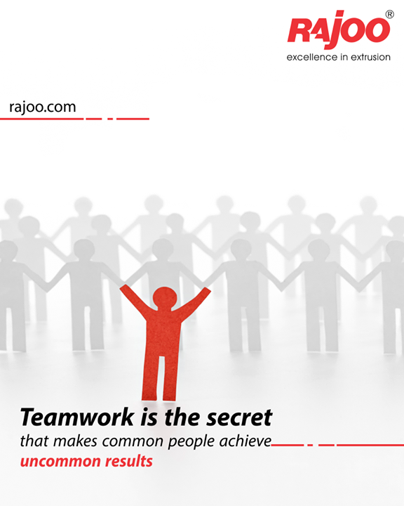 Teamwork gives strength.  #TeamWork #RajooEngineers #Rajkot #PlasticMachinery #Machines #PlasticIndustry