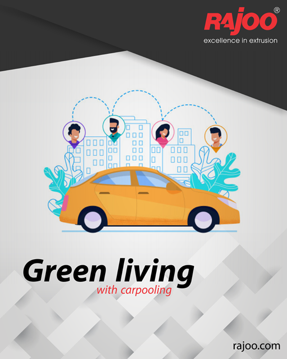 There have to be more than one benefits of Carpooling to be catching up with all at this scale! Here are some of them:  1. Saves Fuel 2. Shared Cost 3. Make Friends 4. Say Bye to Stress 5. Saves Time  #GoGreen #Carpooling #RajooEngineers #Rajkot #PlasticMachinery #Machines #PlasticIndustry