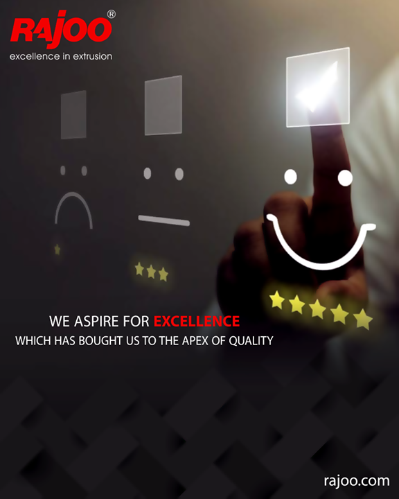 Achieving excellence is a compulsion for us  #RajooEngineers #PlasticMachinery #Machines #PlasticIndustry
