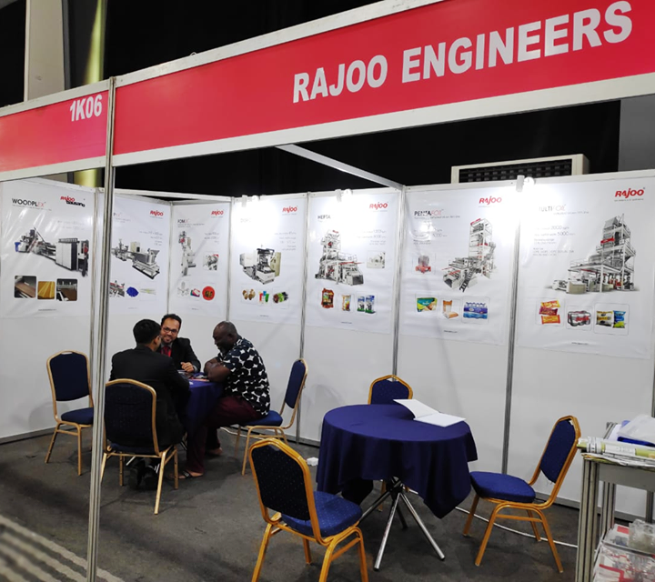 Rajoo Engineers Limited,India at PROPAK, West Africa 2019   #Events #RajooEngineers #PlasticMachinery #Machines #PlasticIndustry
