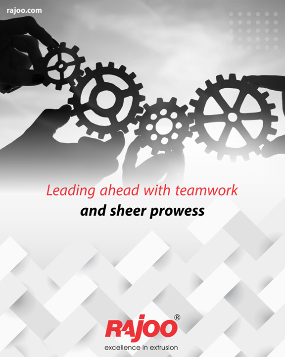 The strength of the team is each individual member. The strength of each member is the team.  #TeamWork #RajooEngineers #Rajkot #PlasticMachinery #Machines #PlasticIndustry