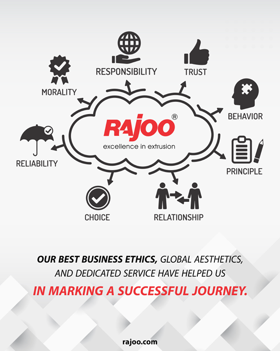 Our best business ethics, global aesthetics, and dedicated service have helped us in marking a successful journey!  #RajooEngineers #Rajkot #PlasticMachinery #Machines #PlasticIndustry