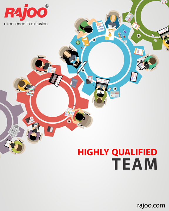 We are motivated team of 350+ employees with expertise in their respective areas & we all strive to deliver quality product & services to our customers.  #TeamWork #RajooEngineers #Rajkot #PlasticMachinery #Machines #PlasticIndustry