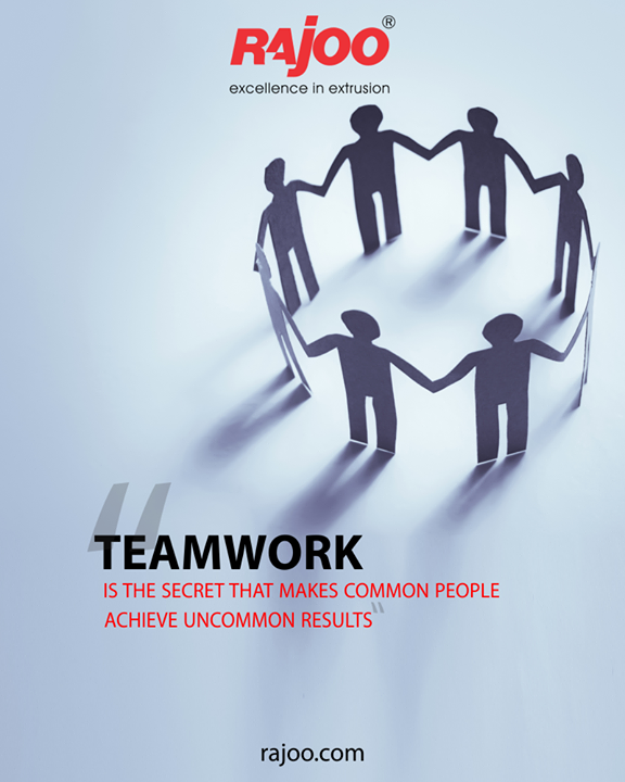 Team work gives strength.  #TeamWork #RajooEngineers #Rajkot #PlasticMachinery #Machines #PlasticIndustry