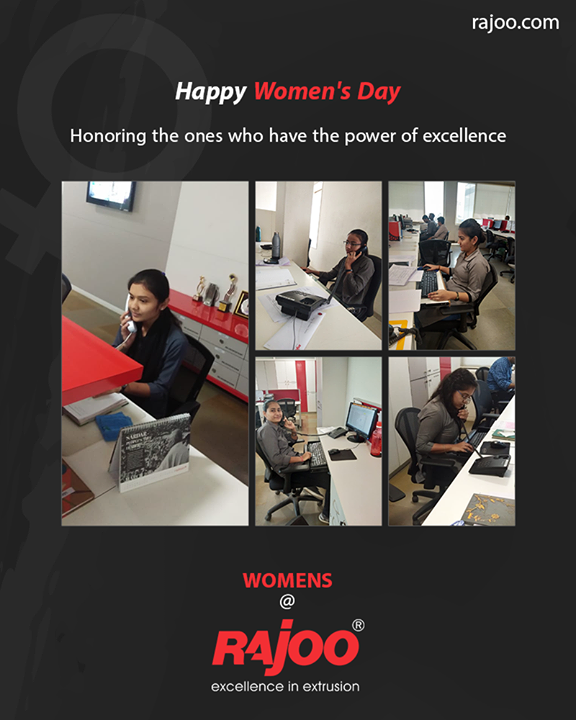 Honoring the ones who have the power of excellence.  #WomensDay #women #WomensDay2020 #RespectWomen #EachforEqual #InternationalWomensDay #InternationalWomensDay2020 #RajooEngineers #Rajkot #PlasticMachinery #Machines #PlasticIndustry