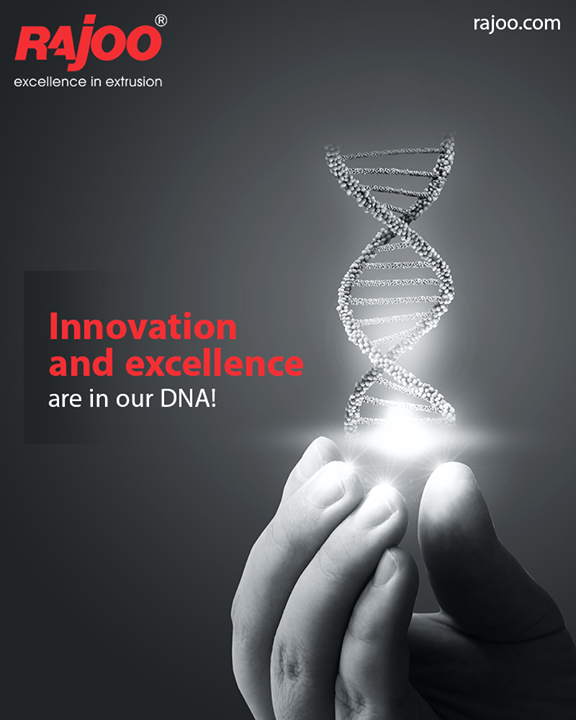 It is our love for the spirit of innovation & excellence in extrusion that drives our functioning. Innovation & excellence are in our DNA!  #RajooEngineers #Rajkot #PlasticMachinery #Machines #PlasticIndustry