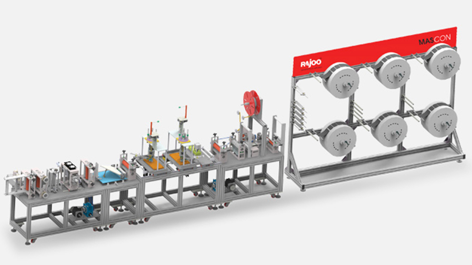 Rajoo Engineers Limited Unveils India's First Integrated, Yet Modular, Non-Woven Fabric And Automatic N95 Mask Making Lines  #IndiaFightsCorona #Coronavirus #RajooEngineers #Rajkot #PlasticMachinery #Machines #PlasticIndustry