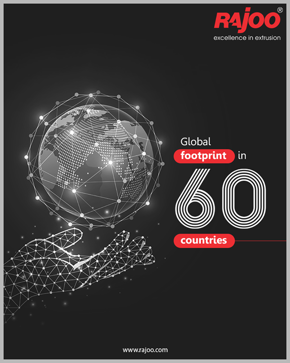 Rajoo Engineers Limited India takes pride in conveying that we have set a benchmark in the field of plastic extrusion machinery domain and have successfully marked global footprints across 60 countries!  #RajooEngineers #Rajkot #PlasticMachinery #Machines #PlasticIndustry