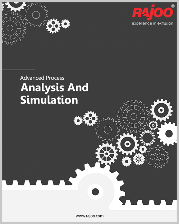 Advanced process analysis and simulation software (Flow 2000) for customizing screw and die spiral channel designs based on the rheology of specific polymers are employed. IDEAS and UNIGRAPHICS software tools are also used for product engineering and simulation.  #RajooEngineers #Rajkot #PlasticMachinery #Machines #PlasticIndustry