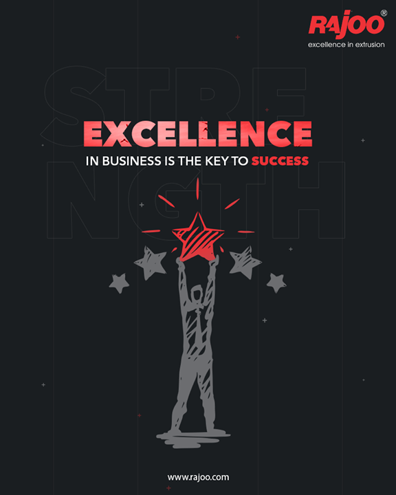 Excellence is not just an adjective; the word excellence has got a greater significance in every domain of life.   No matter whichever business you are into; excellence will always be the key to success.  At Rajoo Engineers Limited we have been blending experience and excellence with our years of expertise  #RajooEngineers #Rajkot #PlasticMachinery #Machines #plasticindustry
