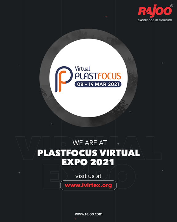 We are at PlastFocus Virtual Expo 2021 visit us at- www.ivirtex.org  #RajooEngineers #Rajkot #PlasticMachinery #Trending