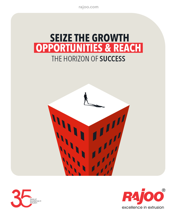 Be a man of your kind & dare making your aspirations come true!  Seize the growth opportunities & reach the horizon of success.   #RajooEngineers #Rajkot #PlasticMachinery #Machines #PlasticIndustry
